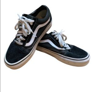 """VANS Authentic """"Off the Wall"""" black Lace Ups"""